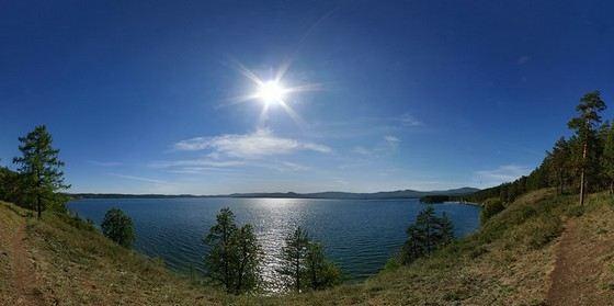 Тургояк одно из самых чистых озер России