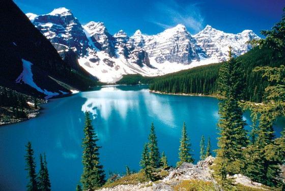 В Канаде есть сеть удивительно чистых озер с пресной водой