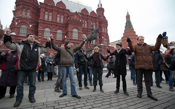 Участников акции 6 апреля на Манежной отпустили на свободу