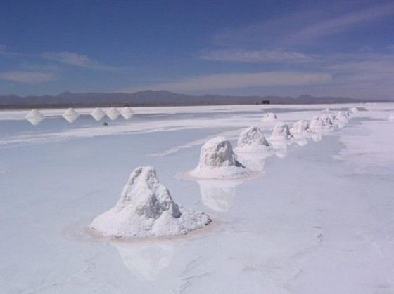 Уюни самое большое соленое озеро в мире