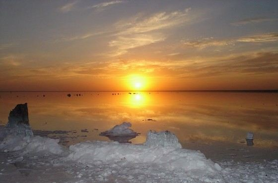 Эльтон удивительно красивое соленое озеро в Волгоградской области