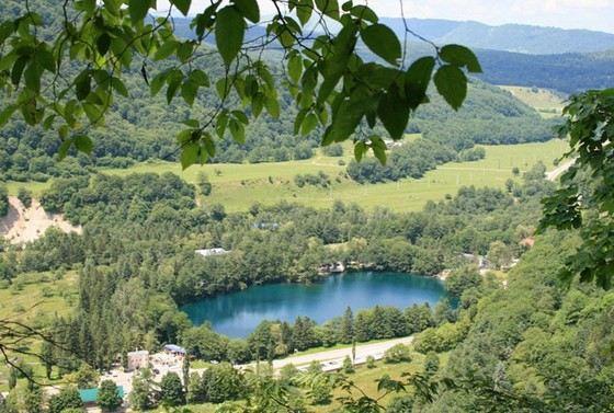Церик-Кель одно из глубочайших озер России