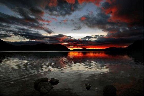 Глубины озера Лама никто не знает