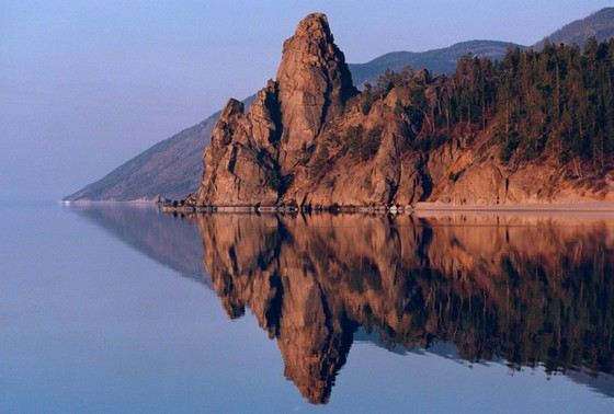 Baikal is the deepest lake not only in Russia, but also in the world.