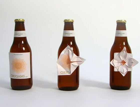 Креативная этикетка для бутылок