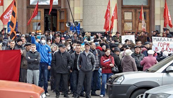 В Харьковской области самопровозглашенные депутаты заявили о создании независимой республики