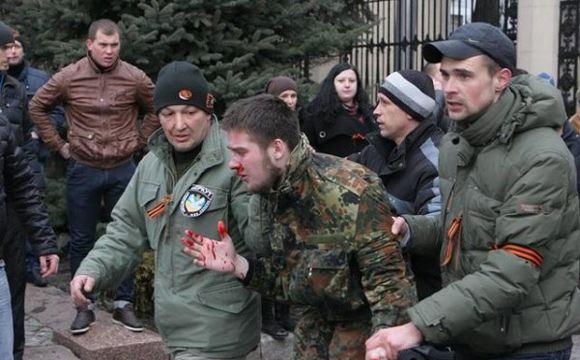 В Харькове проводится антитеррористическая операция