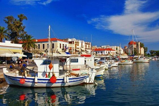 Эгина один из самых красивых островов Греции