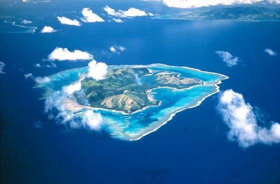 Остров Фиджи называют раем на Земле из-за его красоты
