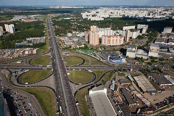МКАД самая большая улица-дорога Москвы