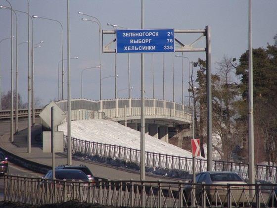 Приморское шоссе самая длинная улица Санкт-Петербурга