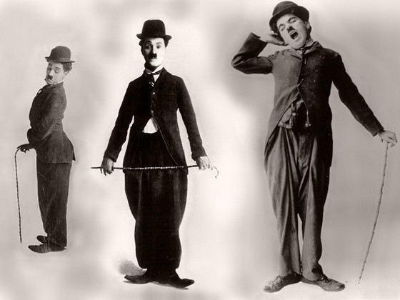 Комедийный актер Чарли Чаплин был звездой немого кино