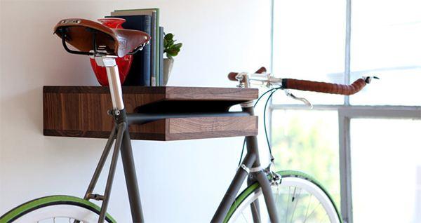 Полка из велосипеда