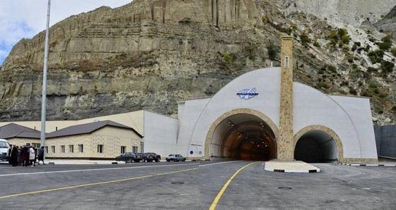 Gyumrinsky tunnel is the longest in Russia