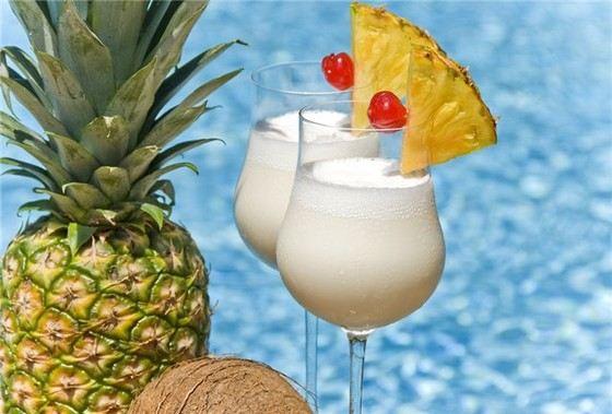 Женщины часто считают, что «Пина Колада» самый вкусный коктейль