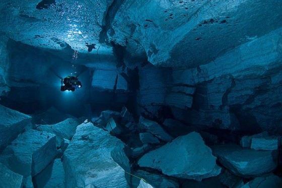 Ординская пещера самая большая подводная пещера в России
