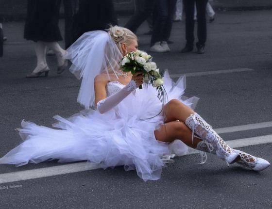 Однажды побывать в роли невесты - мечта каждой девушки