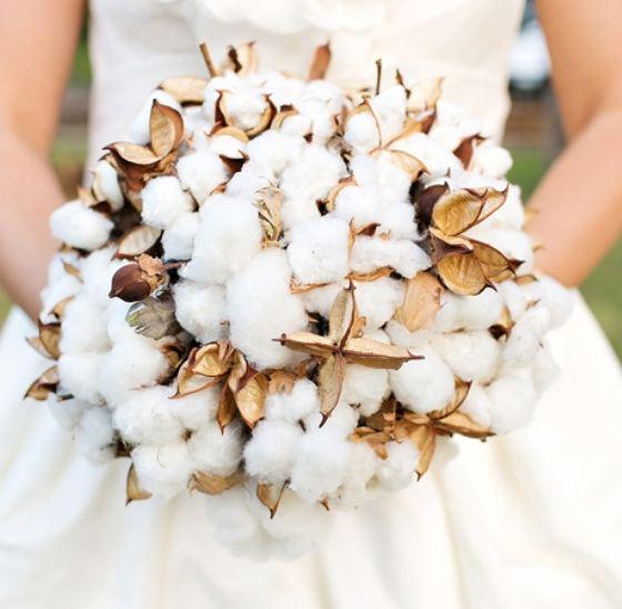 Тренд сезона 2014 - стильные экстравагантные свадебные букеты