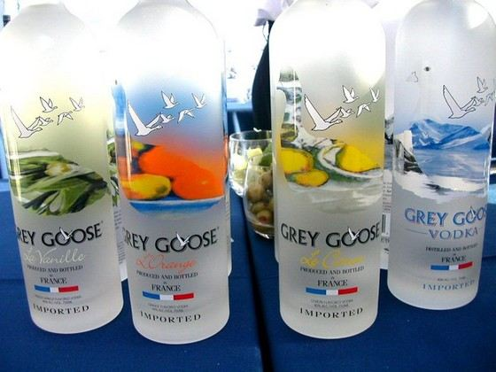 """Gray Goose"" is the best vodka in the world according to some experts."