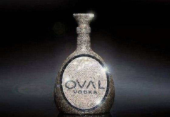 OVAL Swarovski Crystal is one of the most unusual and expensive types of vodka.