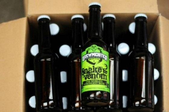 «Змеиный яд» самое крепкое пиво в мире