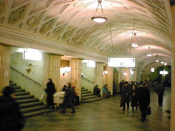 Станция Театральная в московском метрополитене считается одной из самых красивых