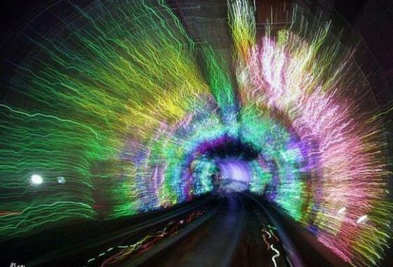 Удивительный Шанхайский подземный тоннель
