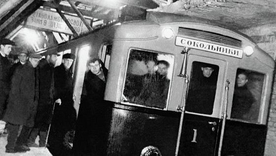 Первое метро в Москве стало двадцатым по счету в мире