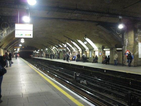 «Бэйкер стрит» самая старая станция метро в Лондоне