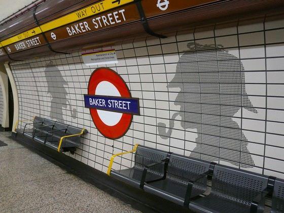 Станция «Бэйкер стрит» является достопримечательностью Лондона
