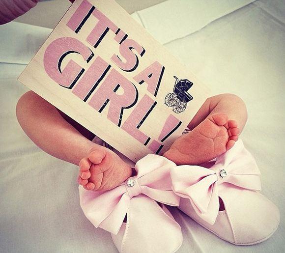 Елена Перминова родила третьего ребенка