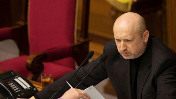 Александр Турчинов пообещал сложившим оружие сепаратистам амнистию