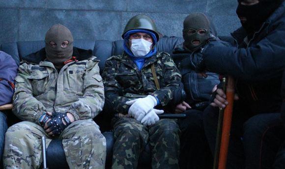 Глава МВД Украины отправил спецназовцев в Славянск
