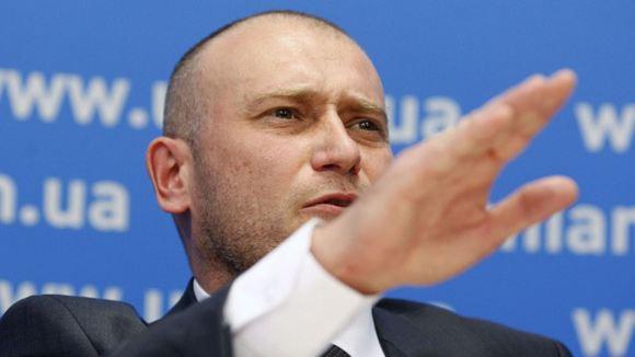 Дмитрий Ярош призвал своих сторонников защитить суверенитет Украины