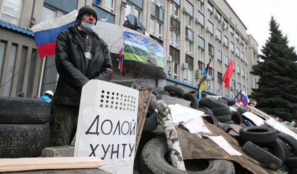 Во время АТО в Славянске погиб один человек