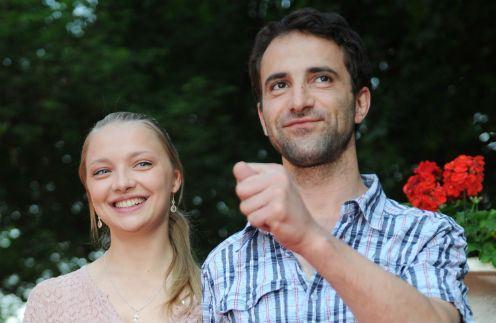Илья Любимов и Екатерина Вилкова назвали сына Петром