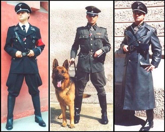 Форма немецкой армии от Хьюго Босс