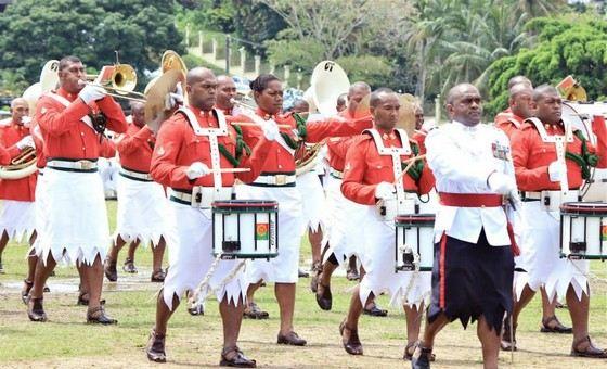Воины в армии Фиджи очень красивые, но не самые сильные