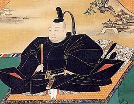 Легендарный японский воин Токугава Иэясу