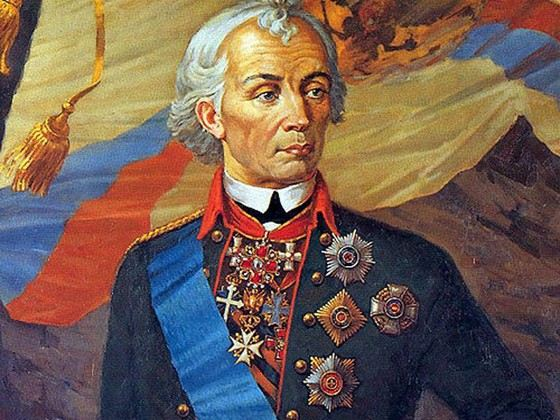Александр Суворов считается лучшим российским воином