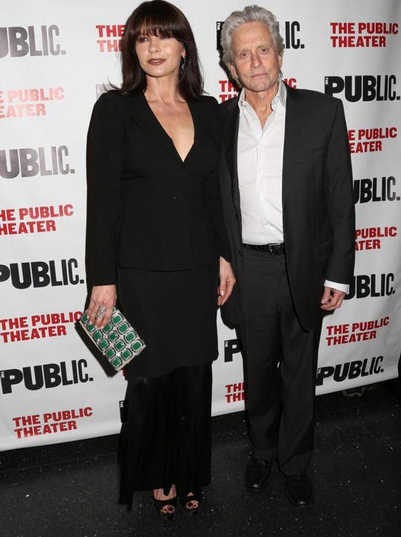 Кэтрин Зета-Джонс и Майкл Дуглас появились вместе на публичном мероприятии