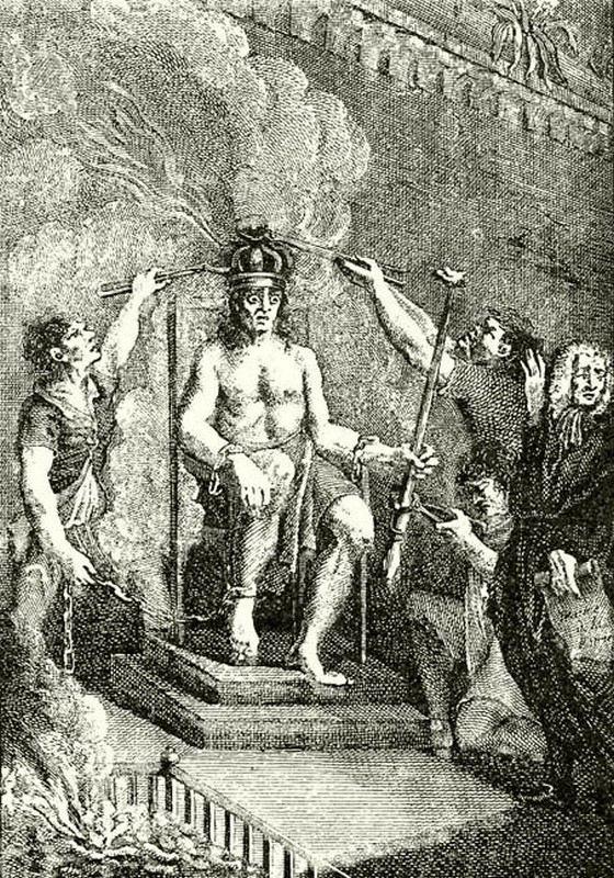 Дьердь Дожи умер страшной смертью на раскаленном троне
