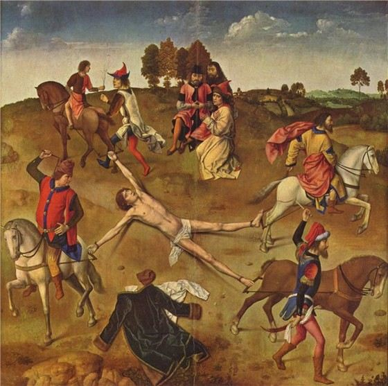 В средние века изобретали страшные и необычные способы смертельной казни
