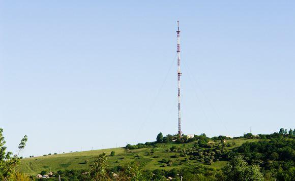 В Славянске захватили телевизионную вышку