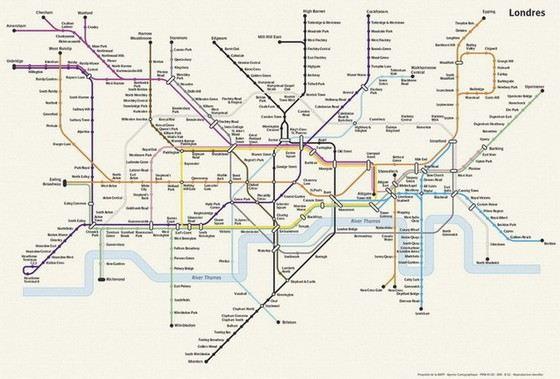 Метро в Лондоне не только самое старое, но и самое большое в мире
