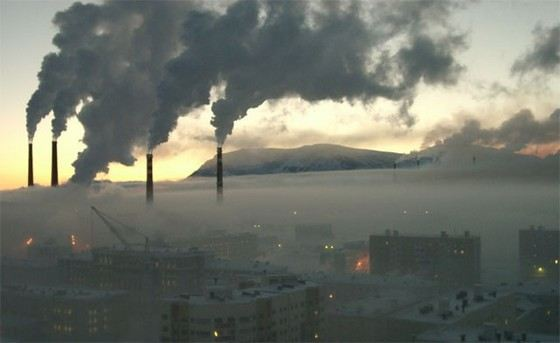 Norilsk is one of the most dangerous cities in Russia from the point of view of ecology