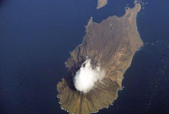 На Курильских островах больше всего вулканов