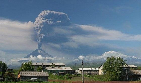 Ключевский - самый большой действующий вулкан в России