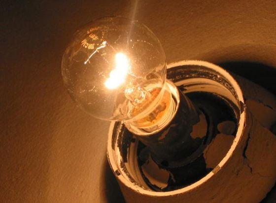 Золотые лампочки