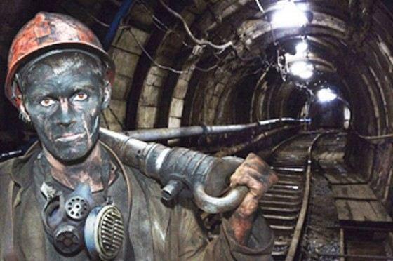У шахтеров очень опасная работа